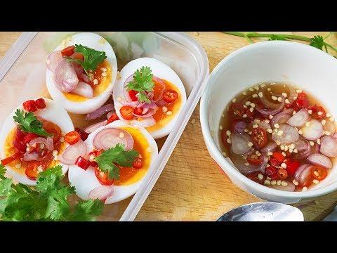 ยำไข่ต้มยางมะตูม + น้ำยำรสเด็ด l อร่อยพุง #คอนเฟิร์มความอร่อยจากคอมเม้น