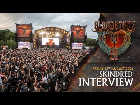 SKINDRED - Interview Bloodstock TV 2021