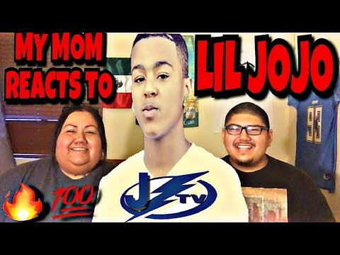 MY MOM REACTS TO LIL JOJO *GETS EMOTIONAL* (HAVE IT ALL, BDK, TIED UP)