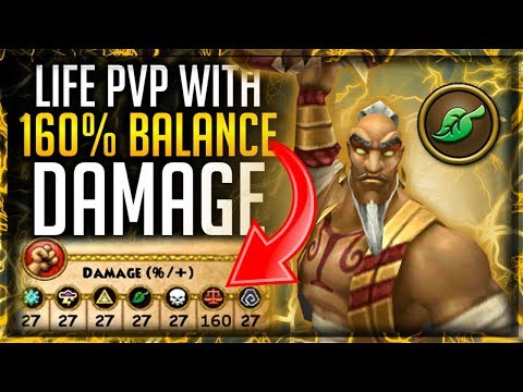 Wizard101: DOING PVP WITH 160% BALANCE DAMAGE ⚖� ON A LIFE WIZARD � (REALLY BROKEN STRATEGY) 😳😱