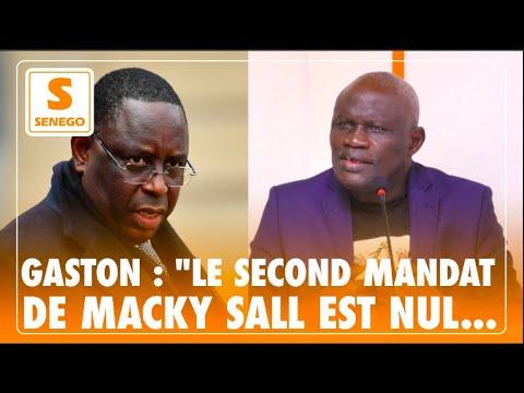 """Gaston Mbengue : """"Le second mandat de Macky Sall est nul et non avenu..."""""""