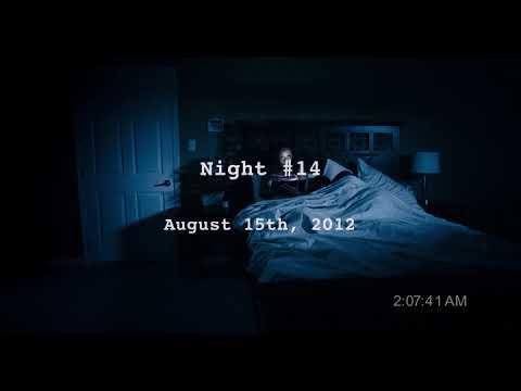 Дом с паранормальными явлениями, Малколн и призрак в постели.