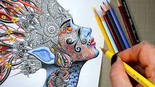 coloring-in-the-new-ayahuasca-coloring-book-with-prismacolor-pencils-relaxing-satisfying-videos