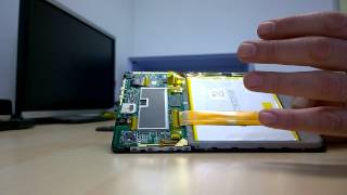 How to open the Archos Cesium 80 Windows 8.1 Tablet