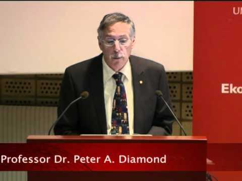 The Nobel Prize Lectures in Uppsala 2010 - Economic Laureates - Peter A. Diamond