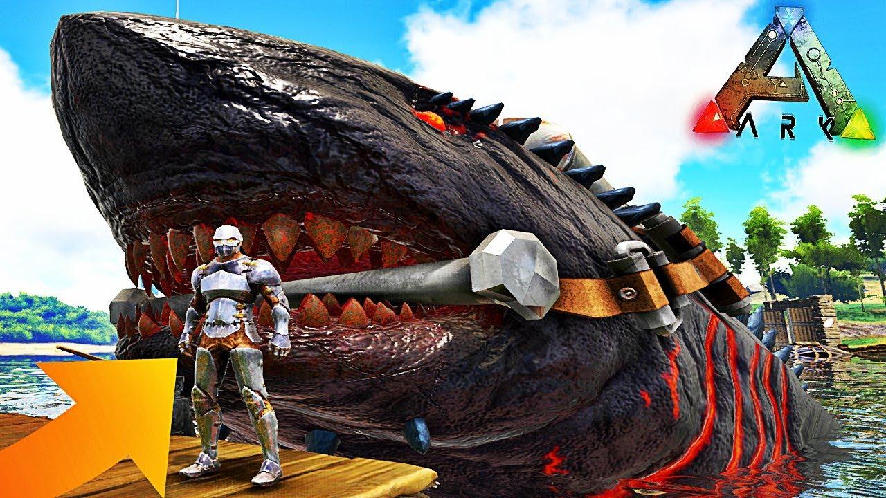 Le Requin Le Plus Grand Du Monde Ark Survival Evolved Youtube