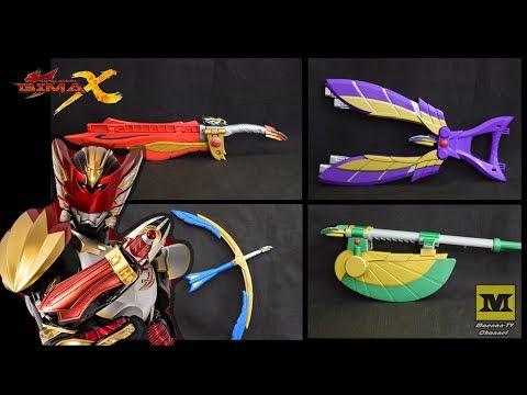 Bima-X Helios Weapon (ALL Modes) Satria Heroes Toys