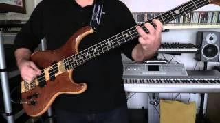 Bass Cover - Simple Minds - Don't You (forget about me) - with Alembic Elan bass