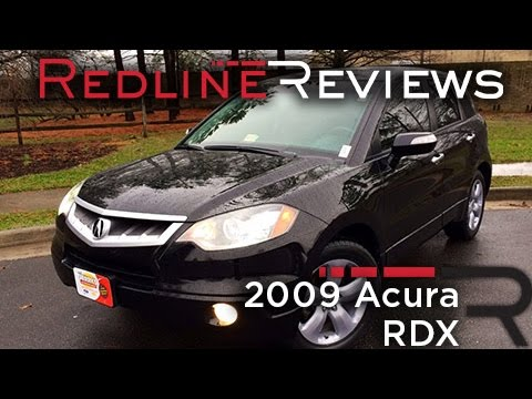 2009 acura rdx review walkaround exhaust test drive youtube