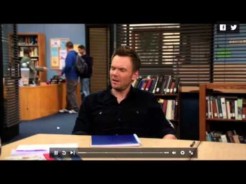 """Brooklyn Nine-Nine"" theme on ""Community"" episode?"