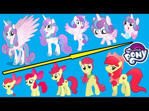 My Little Pony GROWING UP Compilation, All Characters Mllp ✅ Part 2 | Top Stars