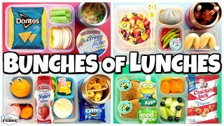 HOT LUNCHES + Party Food 🍎 Lunch Ideas for KIDS