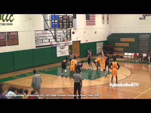 Team THAD vs KY Hoop Dreams Orange AAU 2015
