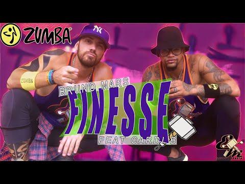 Bruno Mars - Finesse (Remix)( Versión Zumba) [Feat Cardi B] - Choreography Equipe Marreta