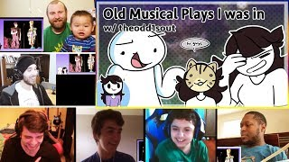 My Embarrassing Old Plays w/ theodd1sout REACTIONS MASHUP