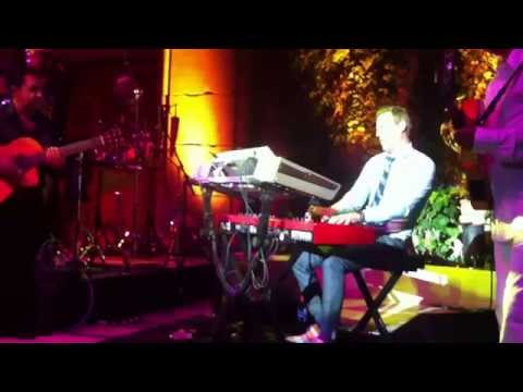 Solo Loco Fred Breton keyboards of the Gipsy Kings Live at Saratoga