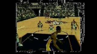 NBA Courtside 2: Featuring Kobe Bryant Nintendo 64 Gameplay