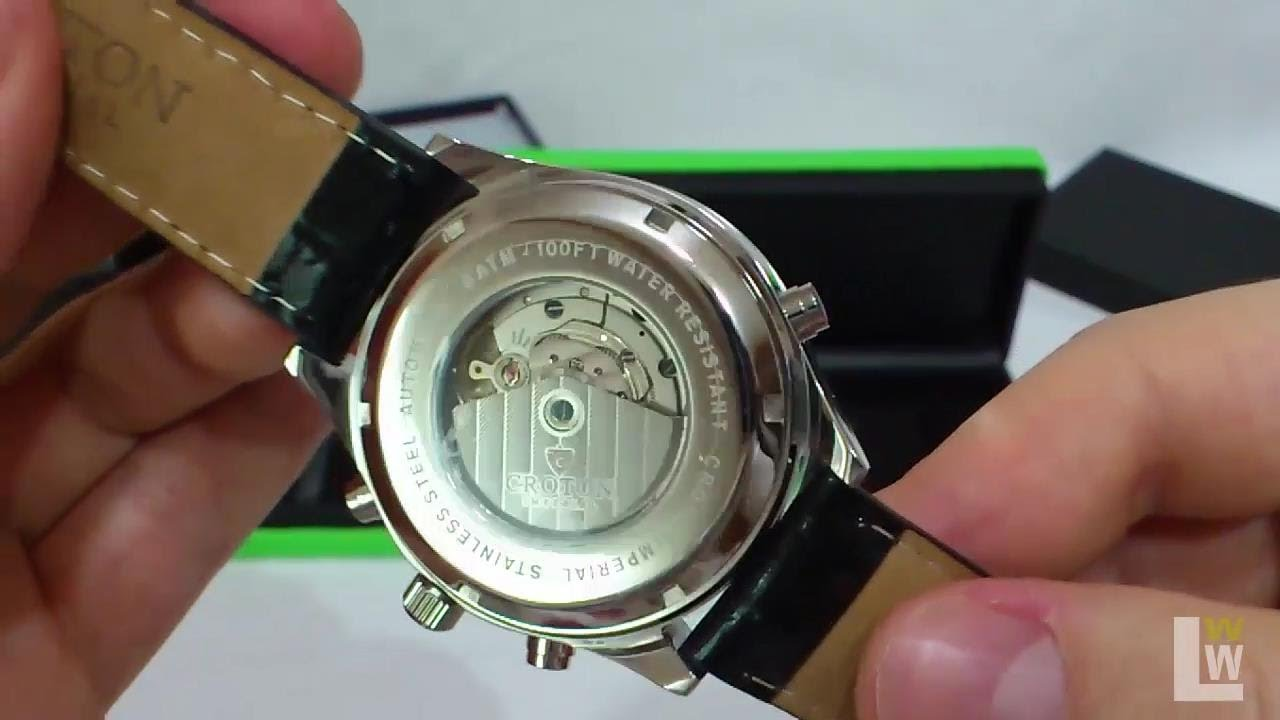 croton imperial automatic wrist watch for men video review croton imperial automatic wrist watch for men video review