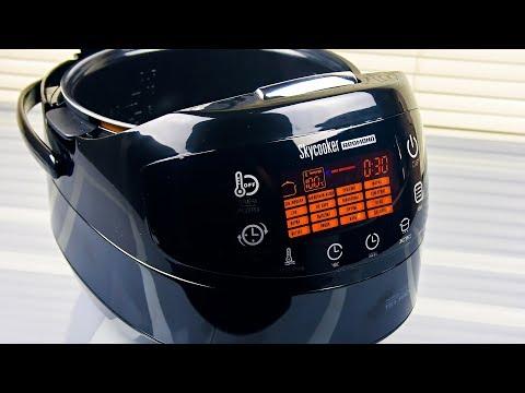 Обзор умной мультиварки REDMOND SkyCooker M903S, готовим плов со свининой