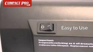Compact Pro NCH015 9 Watt Ultraviolet Detector Thumbnail