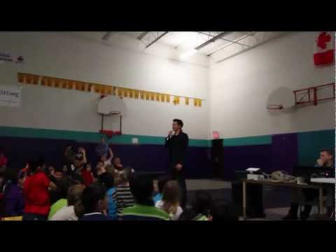 Q+A - Do you like One Direction? @ CB Stirling Elementary School with Peter Chanthanakone