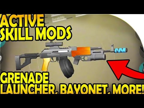 ACTIVE SKILL ATTACHMENTS (GRENADE LAUNCHER, BAYONET, MORE!) - Last Day On Earth Survival Update 1.9