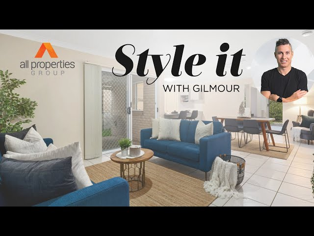 Home styling that appeals to a certain type of buyer   Style it with Gilmour   Episode 12