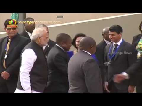 PM Modi Receives Ceremonial Welcome In Mozambique | Mango News