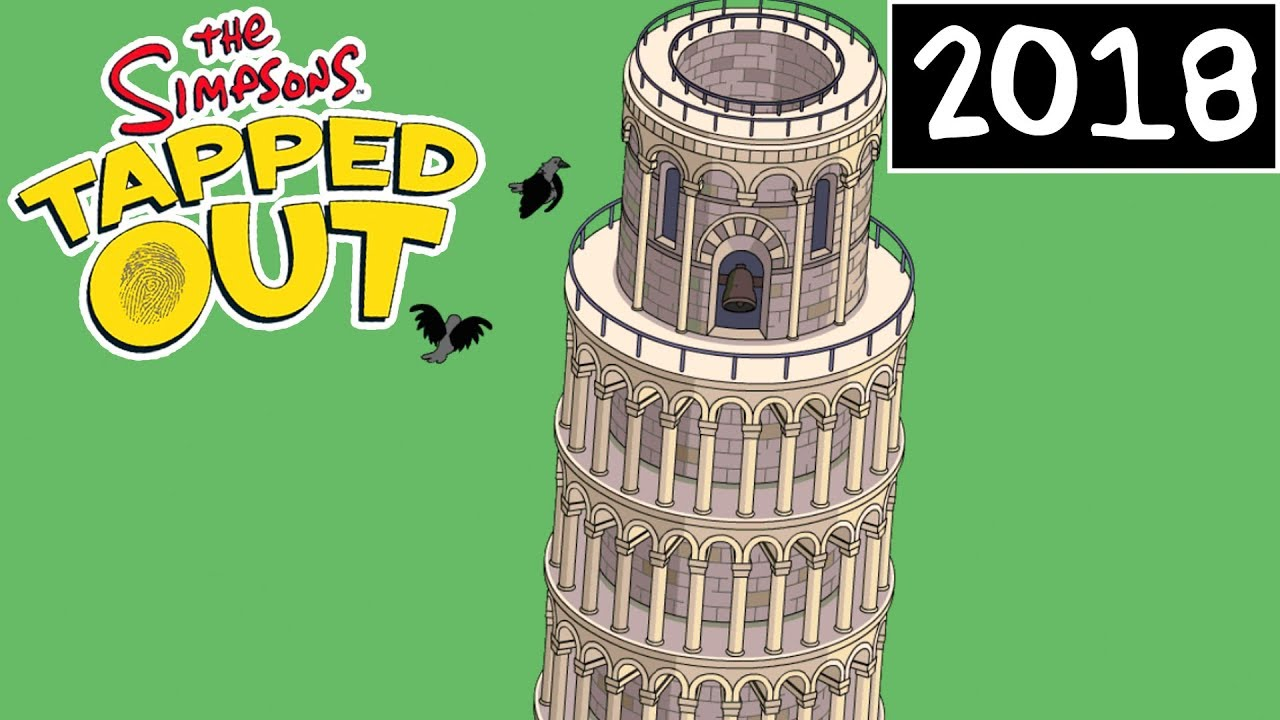 TSTO - Springfield Jobs Event | Leaning Tower | Personal Prize (2018)