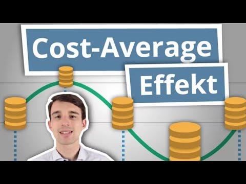 Cost Average Effekt - einfach erklärt! Mehr Rendite beim Sparen  | Finanzlexikon