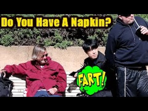 Funny Wet Fart Prank With The Sharter | Gonna Need A Napkin