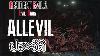 Resident Evil : Evil Diary  รวมประวัติ สัตว์ประหลาดใน Resident Evil 2 Remake