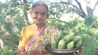 How To Cook Bitter Gourd Curry By My Grandma || Myna Street Food || Food Info
