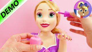 Démo Make Up de la nouvelle tête à coiffer Raiponce – Make Up de la tête à coiffer Raiponce streaming