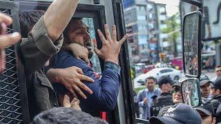 İstanbul'da 1 Mayıs gösterileri için Taksim'e çıkmak isteyenlere polis müdahalesi