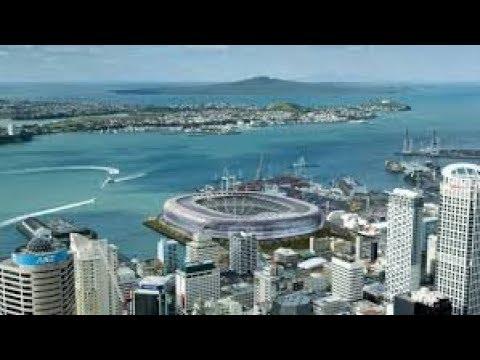 Neuseeland Auckland Queenstown Land Leute Sightseeing