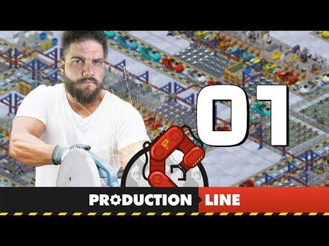 JOGO PARA CONSTRUIR CARROS | Production Line #1
