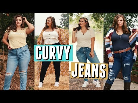 How to Style JEANS on a CURVY Body!. http://bit.ly/2WCYBow