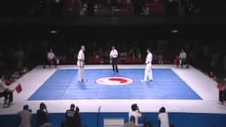 【正道会館】第20回全日本空手道選手権大会2012 準決勝戦 土井vs小西