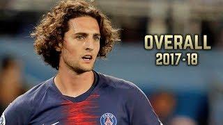Adrien Rabiot - Overall 2017-18 | Best Skills & Goals