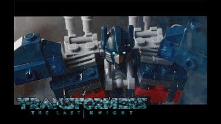 Transformers IN LEGO!!!  The Last Knight Official Trailer  Michael Bay Movie