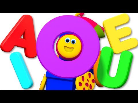 Vowel Song | Learning Street With Bob The Train | Kids Shows | Cartoons Videos For Babies by Kids Tv