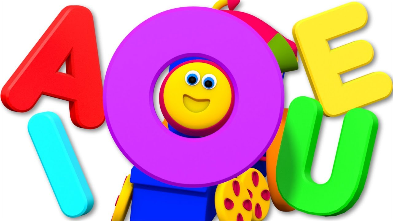 Download Vowel Song | Learning Street With Bob The Train | Kids Shows | Cartoons Videos For Babies by Kids Tv