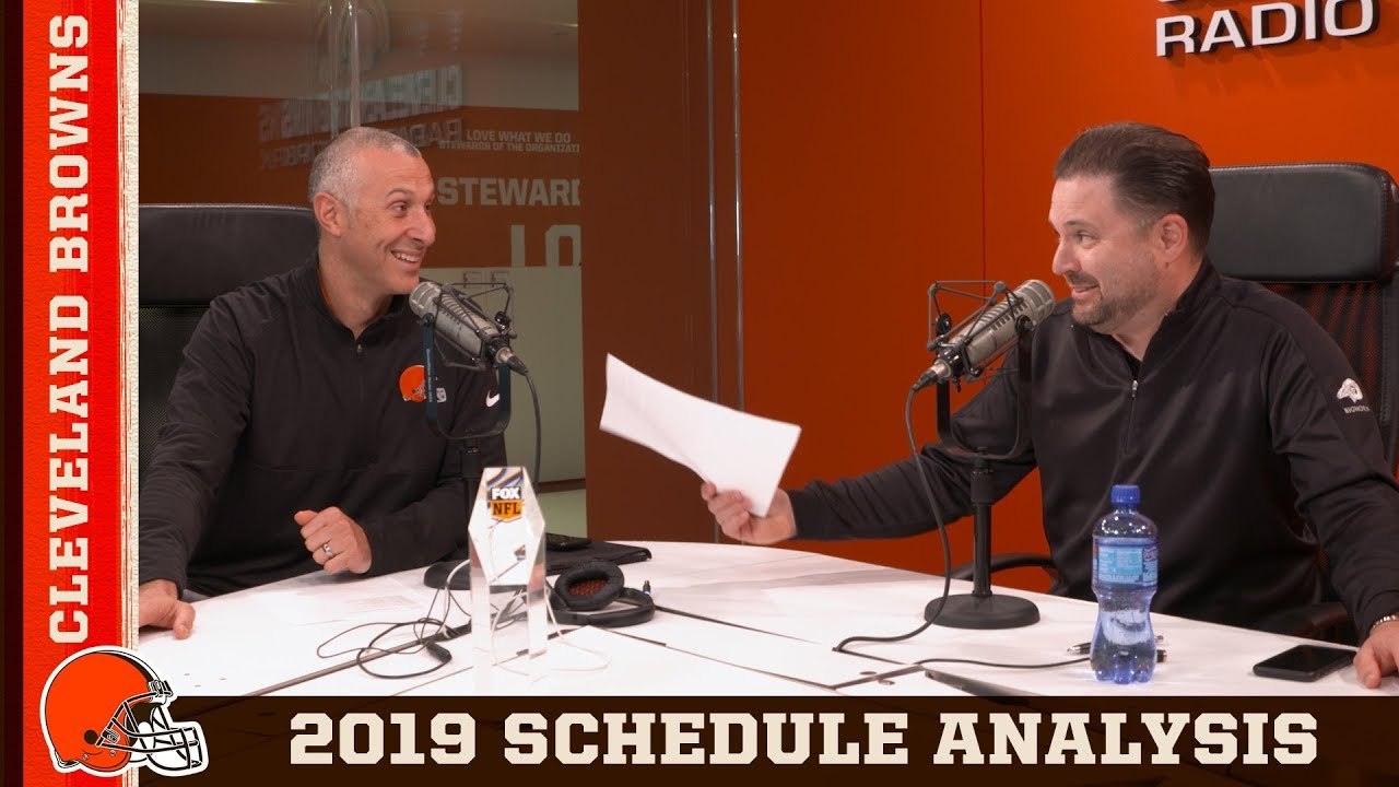 Cleveland Browns Daily breaking news podcast - Schedule Release