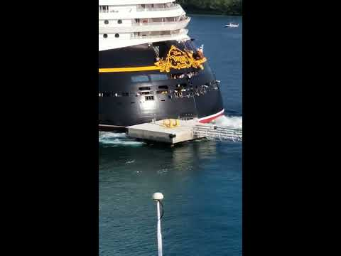 Cruse Ship Fails to Dock in Quite Spectacular Fashion Read