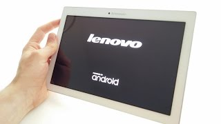 Lenovo Tab 2 A10-70F Tablet Unboxing & First Start Up