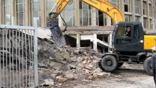 Демонтаж здания Государственного цирка Армении(Демонтаж Осуществлялся силами компании IVIMAX www.ivimax.am., 2012-06-20T19:16:49.000Z)