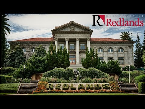 This is the University of Redlands