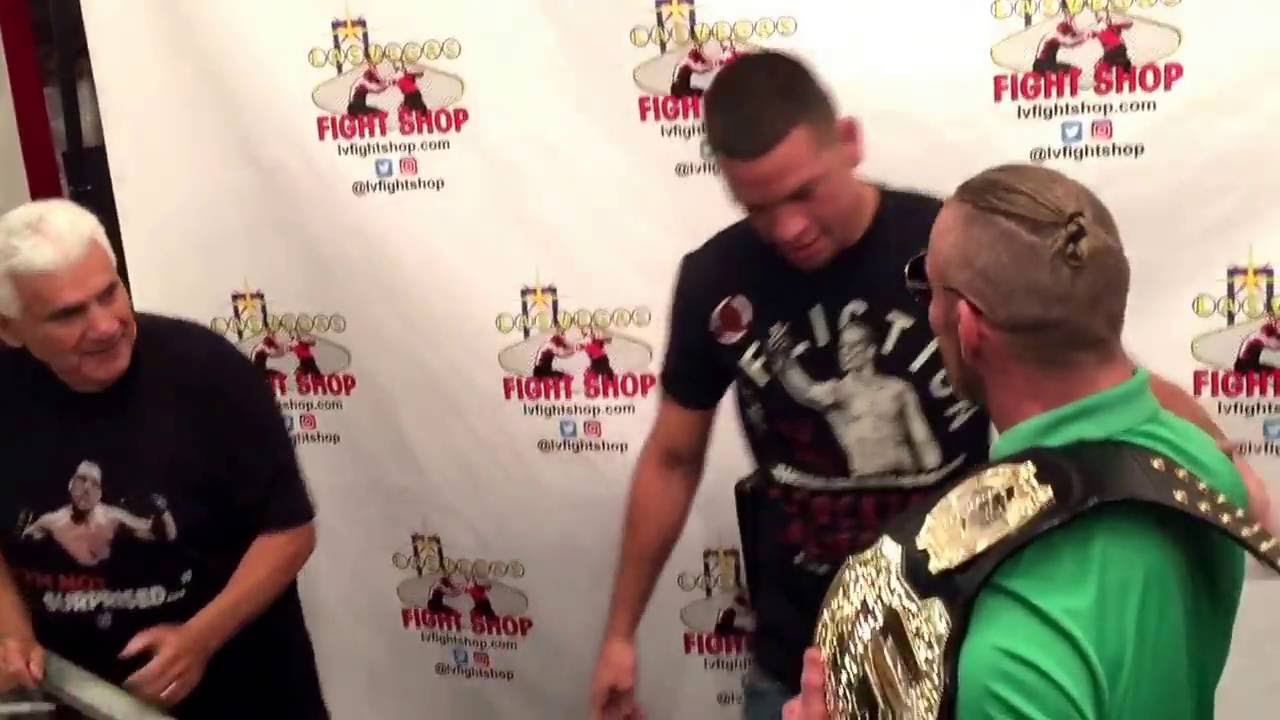 Conner Mcgregor Gets In Nate Diaz Meet And Greet Youtube
