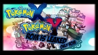 how to get pokemon x and y rom for pc